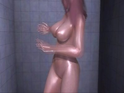 Dead or Alive Xtreme 3 PC - Shower Scene Nude Honoka