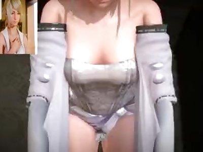 Lunafreya Nox Fleuret Sex Scene Part 1