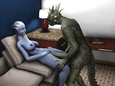 Liara receives a huge amount of love from Argonian