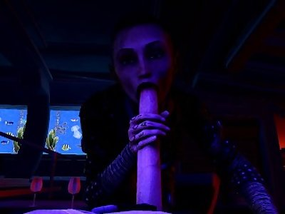 Jack Mass Effect Blowjob(No Sound)