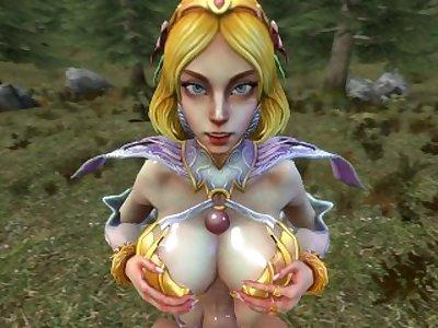 Aphrodite Titfuck [SFM]