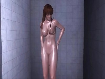 Dead or Alive Xtreme 3 PC - Shower Scene Nude Kasumi
