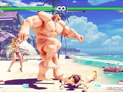 SFV Ryona Request Tests 1 [Menat and Abigail nude]