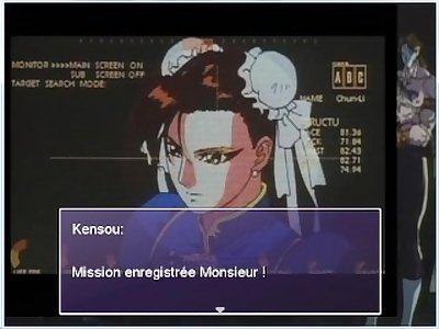 KOF hentai Kensou Adventures Chun-Li route Darkside Shadowloo