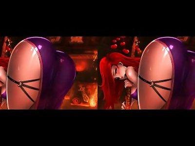 Miss fortune 3D sbs/crosseye