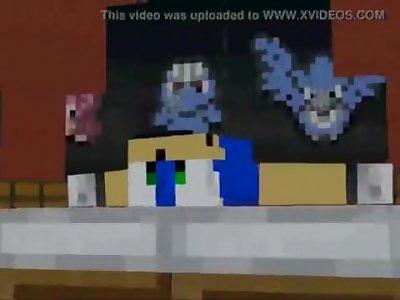 Minecraft Sonic Porn [Sooooo Sexy]