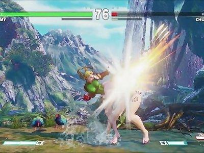 Cammy Barefoot Mod Street Fighter V