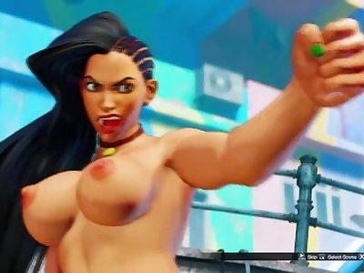 Laura Exposed Mod Street Fighter V [Laura Matsuda Nude]
