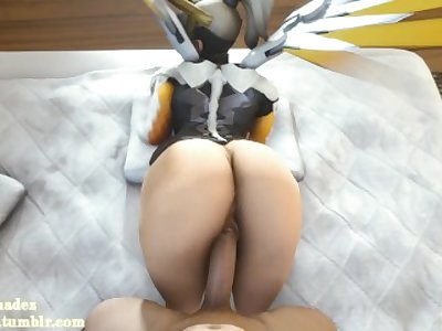 (Overwatch) Fucking Mercy POV [Sound]
