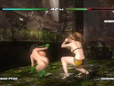 DoA5 Nudemod - Mai Orchid (Arcade Mode)