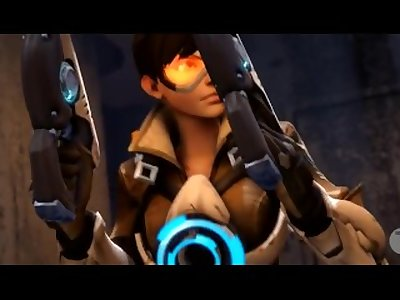 Widowmaker fucks Tracer