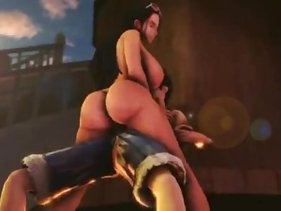 Nico Robin gets Fucked One Piece 3D BB