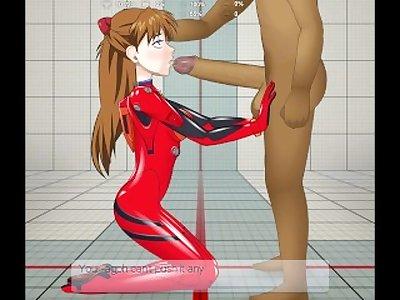 Asuka Langley (plugsuit) Super deepthroat