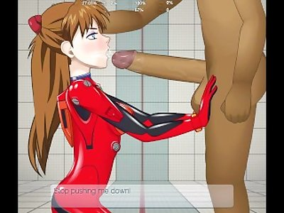 Asuka Langley (plugsuit) Super deepthroat