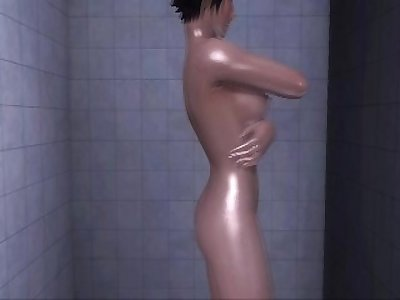 Dead or Alive Xtreme 3 PC - Shower Scene Nude Mila