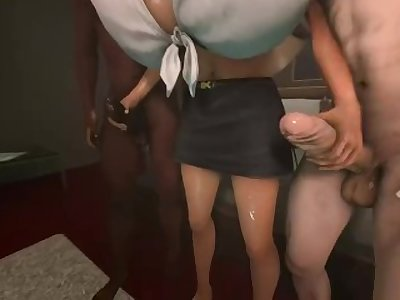 Lara threesome fun (fun)