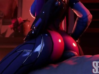 Overwatch  Widowmaker's Porn Video