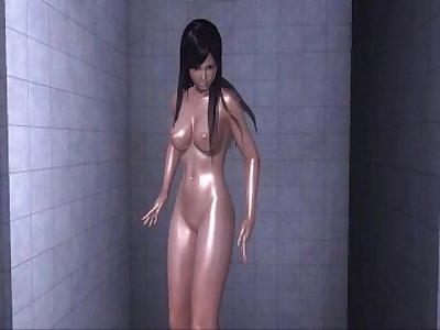 Dead or Alive Xtreme 3 PC - Shower Scene Nude Kokoro