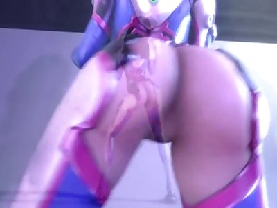 Sexy D.Va Dance [short]
