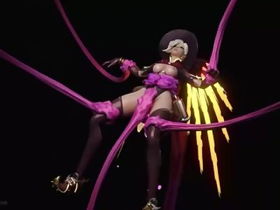Tentacle x Mercy (animation)