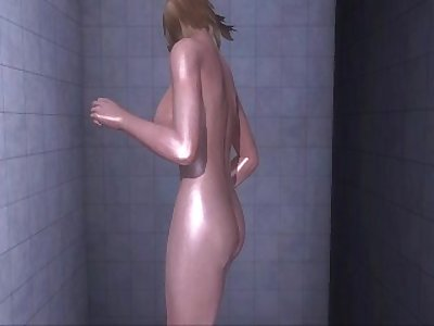 Dead or Alive Xtreme 3 PC - Shower Scene Nude Tina