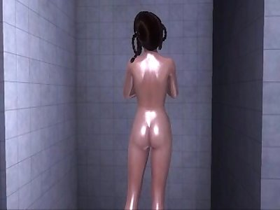 Dead or Alive Xtreme 3 PC - Shower Scene Nude Leifang