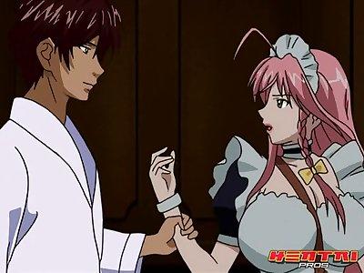 Maid-san to Boin Damashii The Animation ep. 1