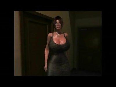 Mom's Revenge with Lara Croft (Maxmax)