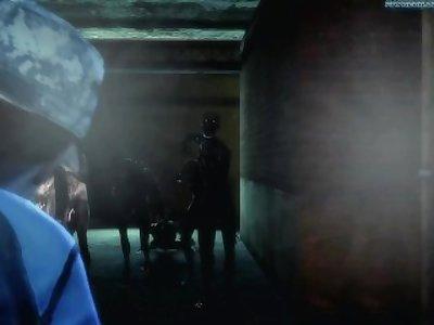 Jill's Zombie Gangbang - Resident Evil [thedragonbomb]