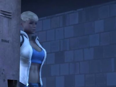 Mortal Kombat XXX Cassie Cage