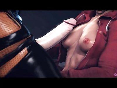 Mass Effect Futa Threesome