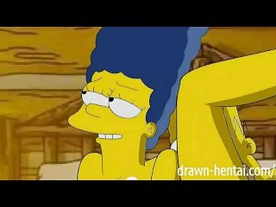 Simpsons Hentai - Cabin of love