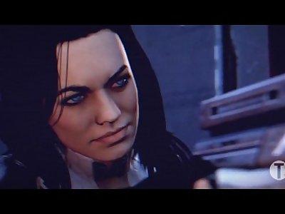 Mass Effect Futanari