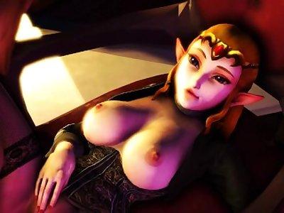 Link Gives Princess Zelda his Load
