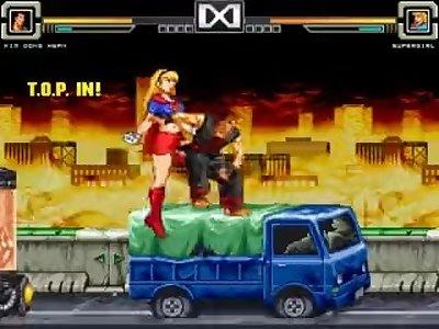MUGEN Supergirl & Wonderwoman