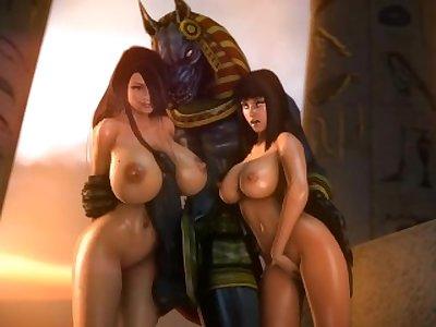 -Smite SFM- Compilation porn