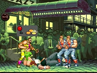 StreetFighter Cammy vs Tower Gang