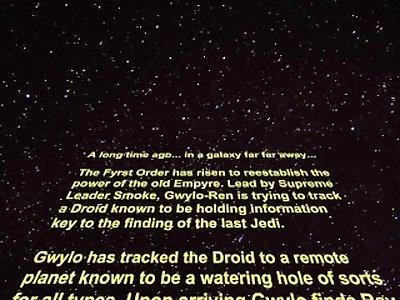 MNF Star Wars The Lust Awakens