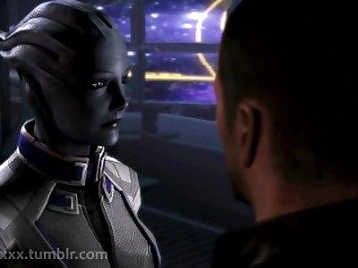 Liara gets fucked by Miranda - Mass Effect Porn (My first SFM)