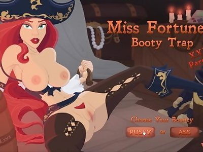 MISS FORTUNE'S BOOTY TRAP VAGINAL  Animated by TheLustyLizard