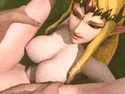 hot sexy legend of zelda porn