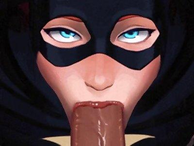 BatgirlblowjobPOVbyInCaseanimated Hentai