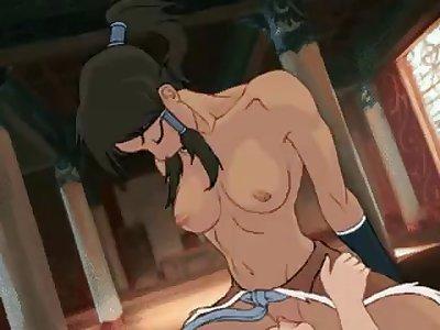 avatar korra porn parody