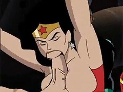 dc justice league Hentai