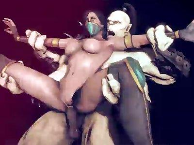 1020670  Goro Jade Mortal Kombat Animated Fugt Hentai
