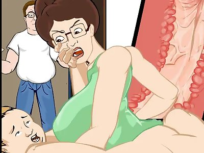 king of the hill porn toons