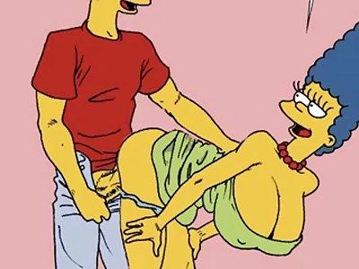 bart and lisa simpsons hentai