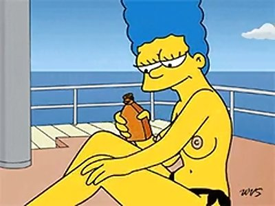 marge simpson toples Hentai