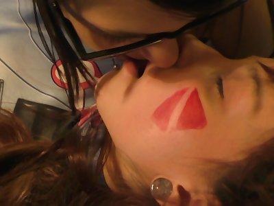 D. va and Mei Lesbian Оverwatch Сosplay