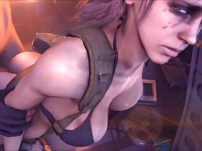 Quite is Hot As Fuck!!! Metal Gear Solid V